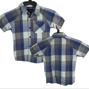 BY15 Hurley Surfer Button Front Pocket Shirt 5